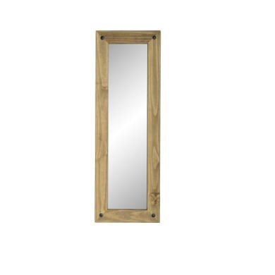 WHM105DWP Seconique Corona Long Wall Mirror - Distressed Waxed Pine