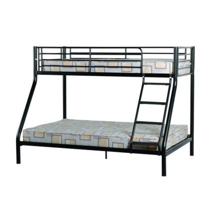 Seconique Tandi Triple Sleeper Bunk Bed - Black