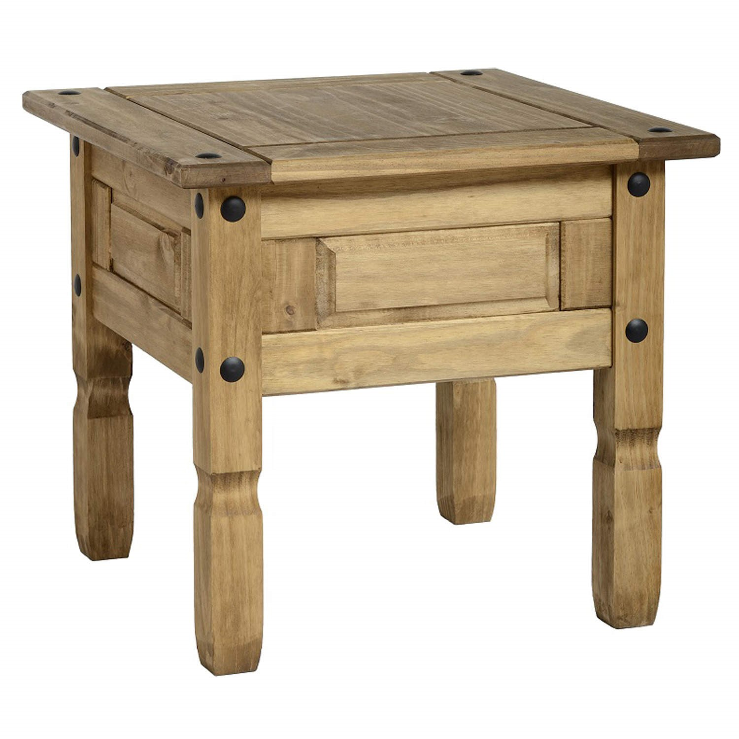 Picture of: Small Side Table In Pine Corona Furniture123