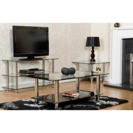 Seconique Harlequin Glass Coffee Table