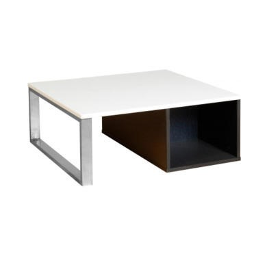 Seconique Concept Coffee Table - Black/White High Gloss