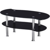 Seconique Colby Black Coffee Table