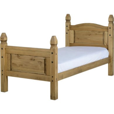Beds Seconique Mexican Pine Single Bed Frame