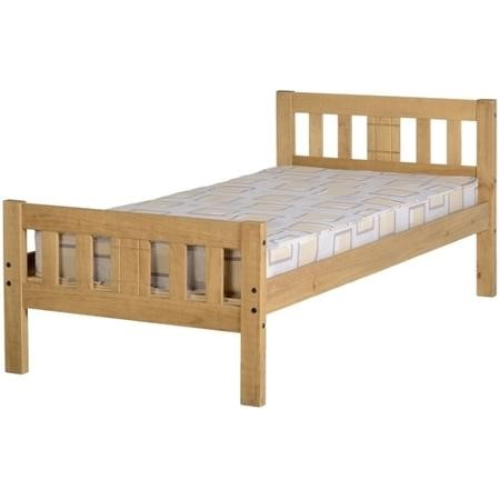 Seconique Rio 3' Bed - Distressed Waxed Pine