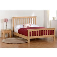 Seconique Stratford Double Bed in Solid Oak