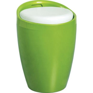 WHSTL003GRWH Seconique Wizard Green Storage Stool