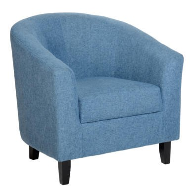 WHTUB005BLF Seconique Tempo Tub Chair in Blue