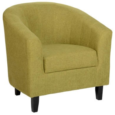 WHTUB005GNF Seconique Tempo Tub Chair in Green
