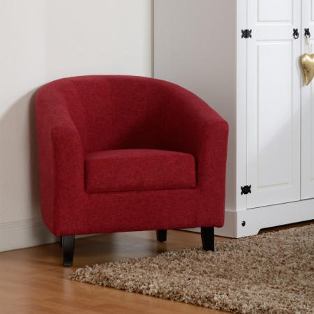 Seconique Tempo Tub Chair in Red