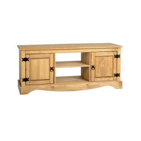 Seconique Corona TV Cabinet in Pine - TV's up to 47""