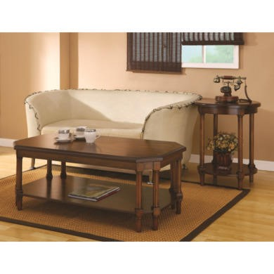 Wilkinson Furniture Wilson Coffee Table in Chinaberry