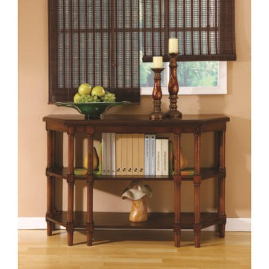 Wilkinson Furniture Wilson Console Table in Chinaberry