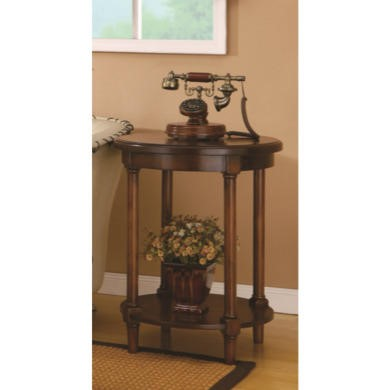 Wilkinson Furniture Wilson End Table in Chinaberry