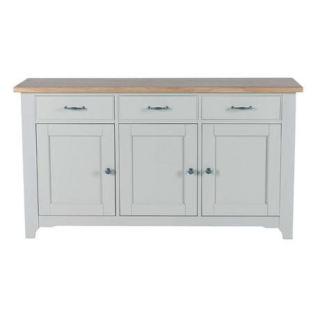 Willis and Gambier Malvern Grey 3 Door 3 Drawer Sideboard