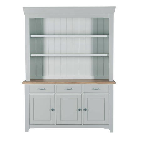 Willis & Gambier Malvern Grey 3 Door Sideboard Hutch