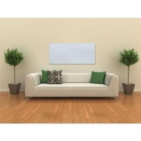 Far Infrared HeaterWhite Glass Panel 900W - 550 x 1100mm