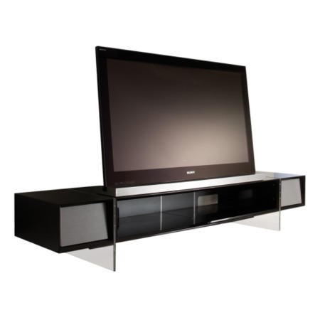 alphason yat1680 b yatai tv stand up to 46 inch furniture123. Black Bedroom Furniture Sets. Home Design Ideas