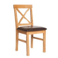 Furniture Link Pair of York Padded Dining Chairs