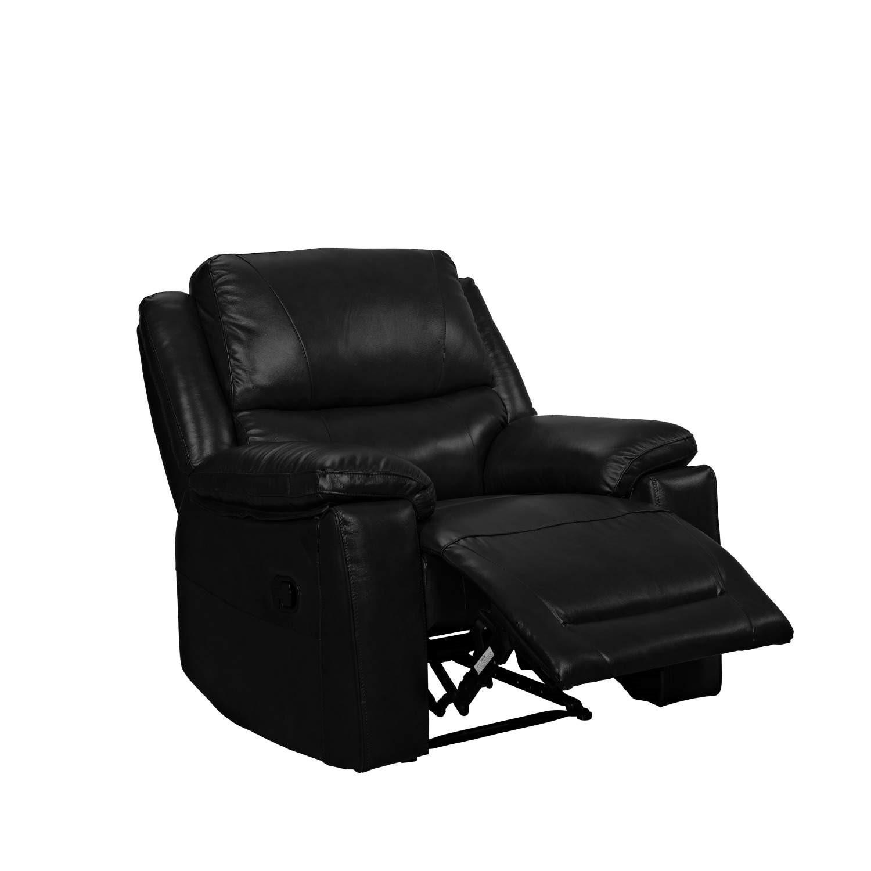 Wilkinson Furniture Zara Black Armchair Recliner