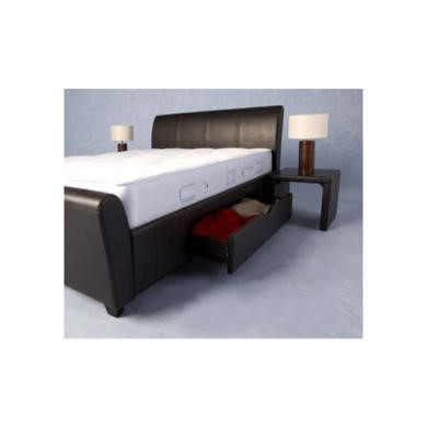 Seconique Dresden 2 Drawer Double Bed