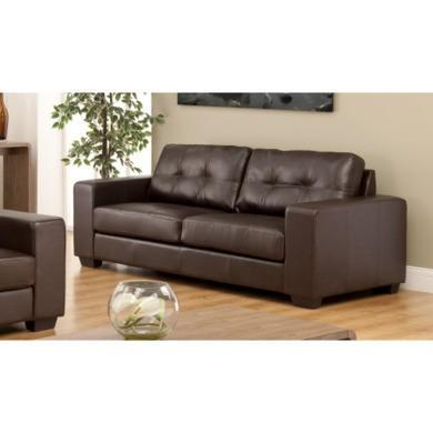 World Furniture Durban 3 Seater In Brown Furniture123