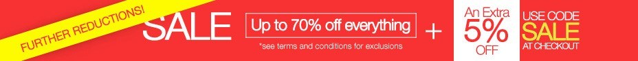 Further Reductions - Jan Sales