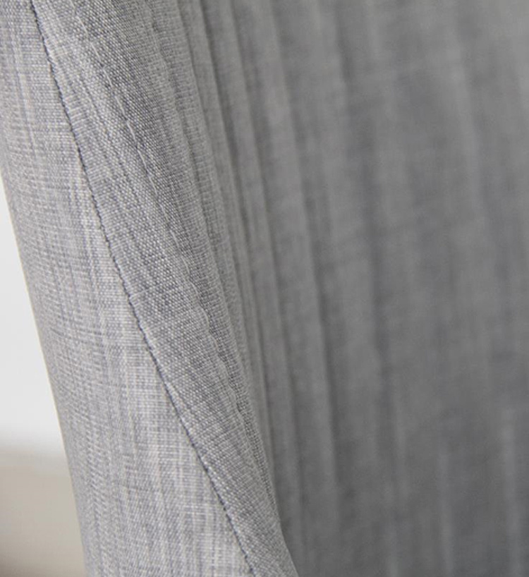 Harland Upholstered Occasional Chair In Light Grey