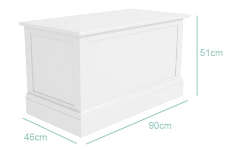Harper blanket box dimensions