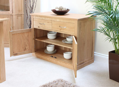 Baumhaus mobel oak small sideboard furniture123 - Mobel for living ...