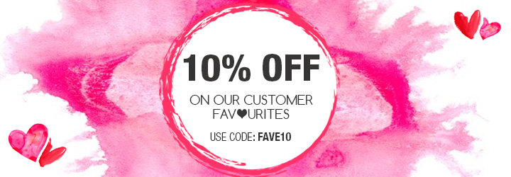10% of customer favourites