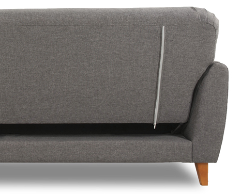 archer Sofa bed back detail