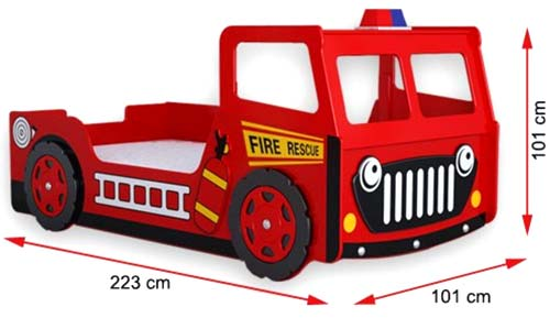 Fire Engine Dimensions
