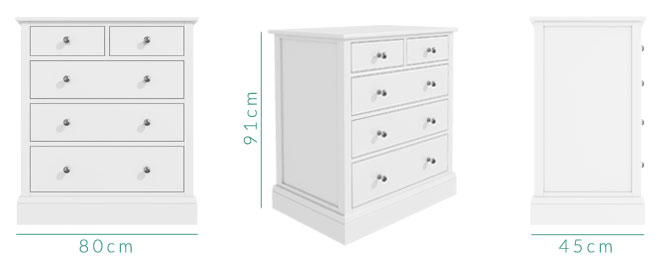 Harper chest of drawers dimensions