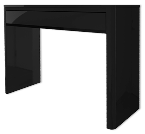 Lexi black high gloss console table furniture123 for Furniture 123 code