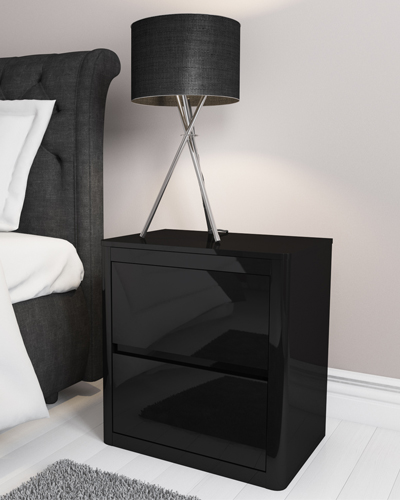 Lexi Black bedside table