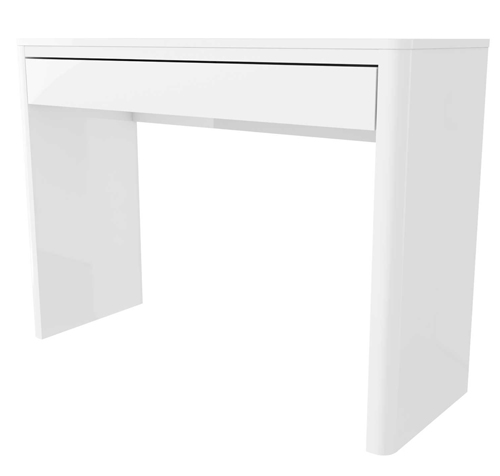 Grade a1 lexi white high gloss dressing table furniture123 for Furniture 123 code