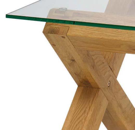 Bentley designs lyon oak glass coffee table furniture123 for Furniture 123 code
