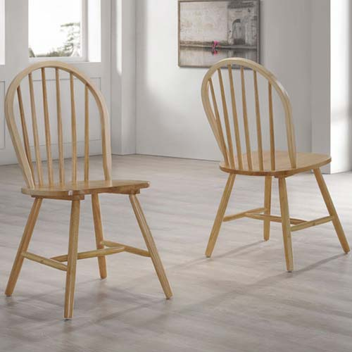 Rhode island rectangular dining set with chairs in