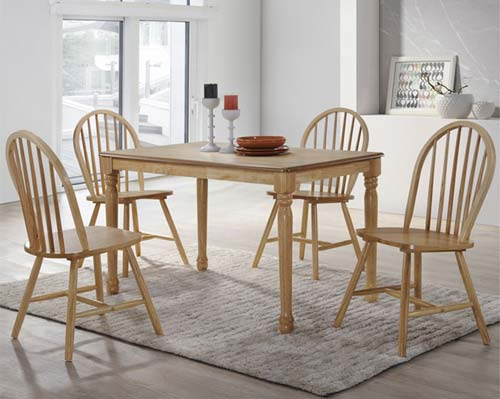 Rhode island pair of windsor chairs in natural furniture123 for Furniture 123 code