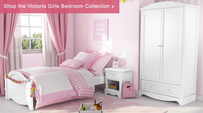 Victoria girls white single bed furniture123 for Furniture 123 code