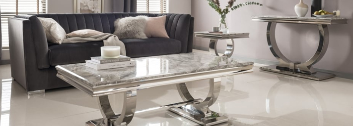 Marble Living Room Collections | Furniture 123