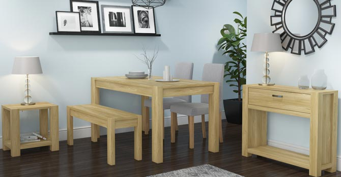 Bailey four place dining table