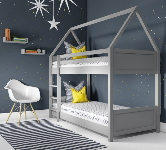 Grey Bunk Beds