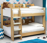 kids Bunk Beds with Shelves.