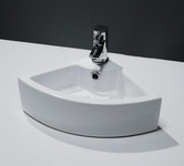Corner bathroom Basins.