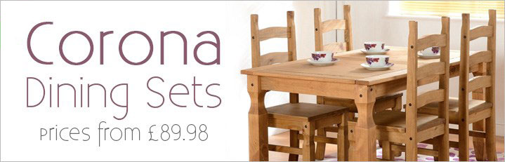 Corona Dining Sets - New In