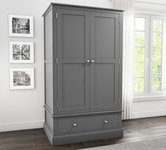 Grey Wardrobes with Drawers
