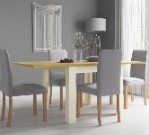 Square 4 Seater Extending Dining Sets
