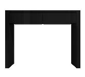 Black High Gloss Console Tables