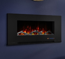 Black Wall Mounted Fires